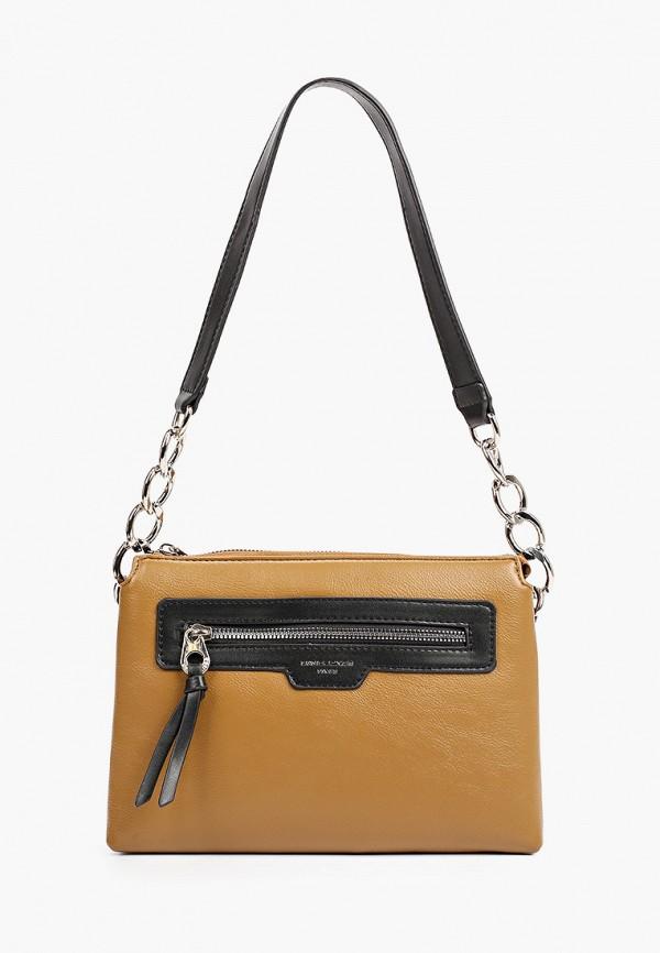женская сумка с ручками david jones, хаки