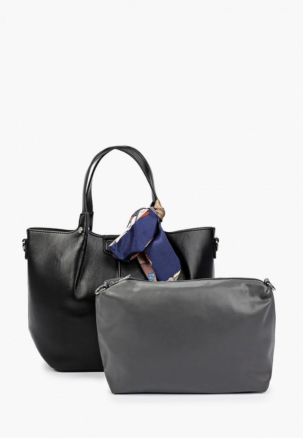 женская сумка с ручками david jones, разноцветная
