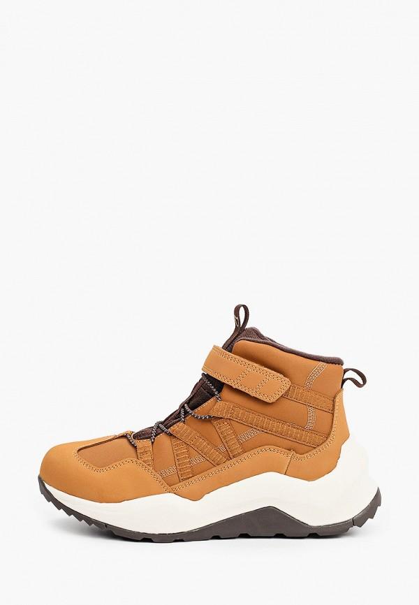 ботинки котофей для мальчика, коричневые