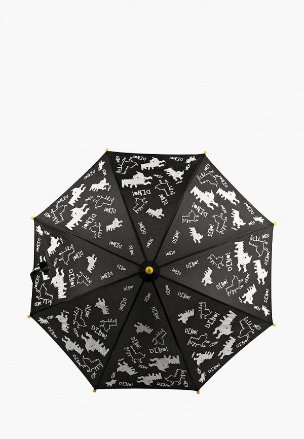 складные зонт котофей для мальчика, черный