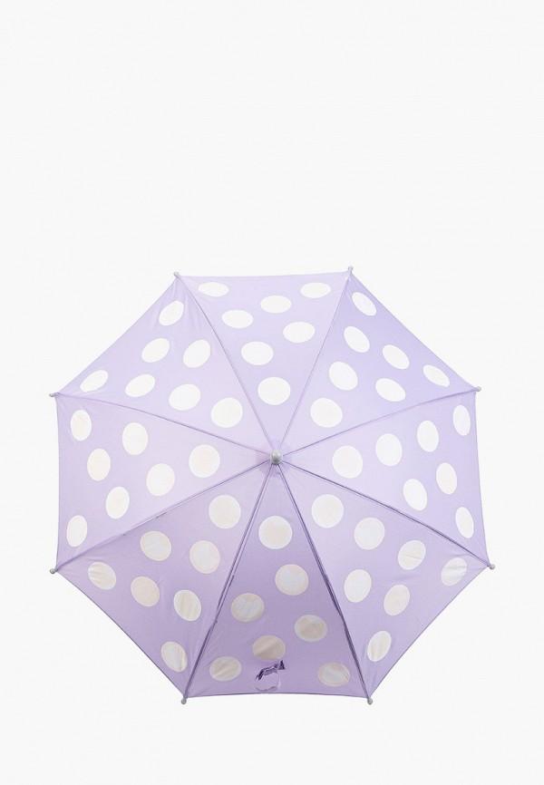 зонт-трости котофей для девочки, фиолетовый