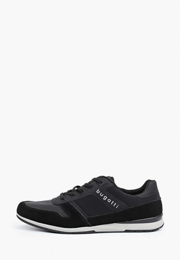 мужские низкие кроссовки bugatti, черные