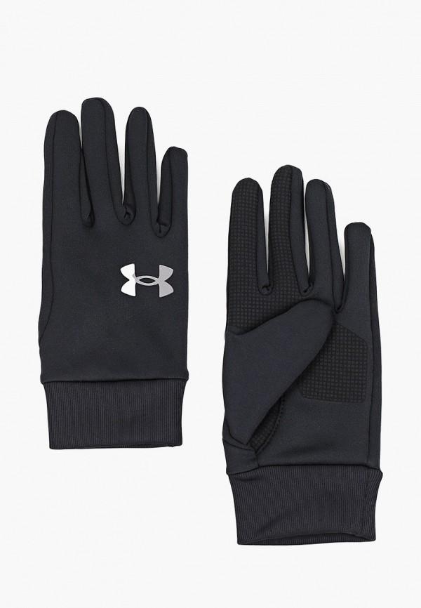 мужские текстильные перчатки under armour, черные