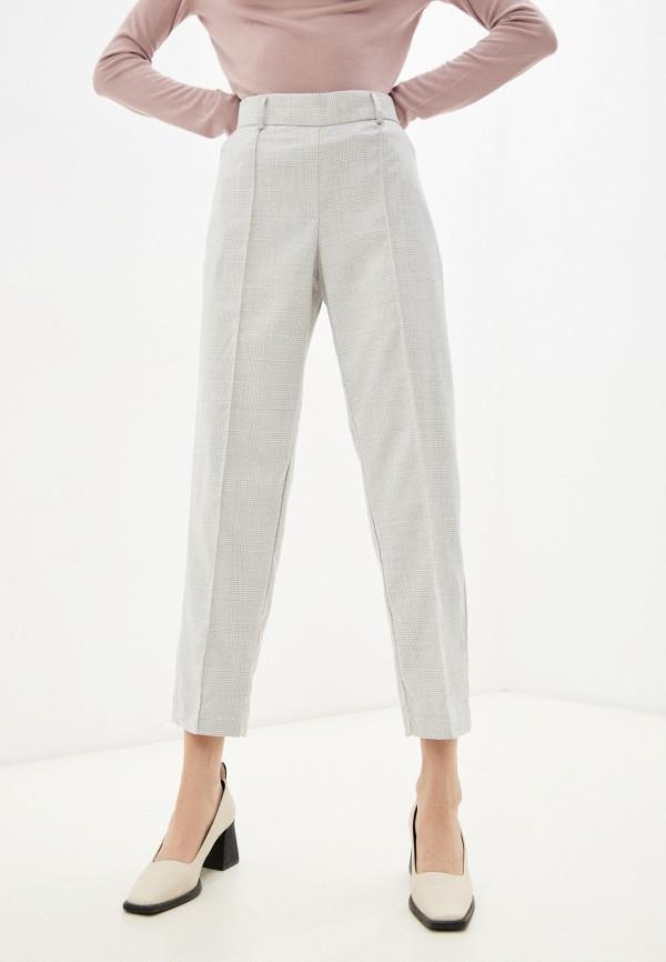 женские зауженные брюки zarina, серые
