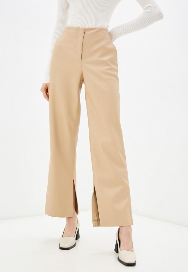 женские брюки zarina, бежевые