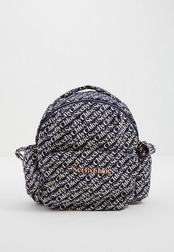 женский рюкзак see by chloe, разноцветный