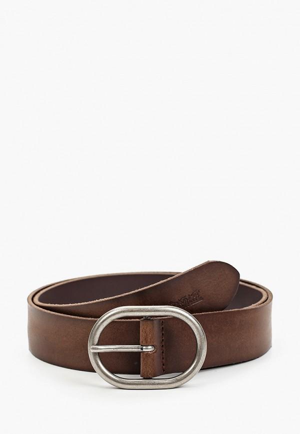 женский ремень levi's®, коричневый