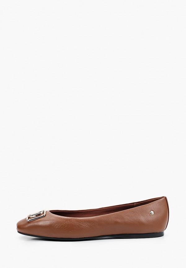 Балетки Tommy Hilfiger коричневого цвета