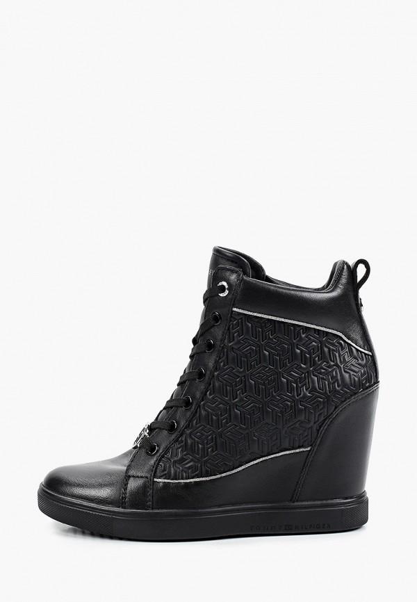 Кроссовки Tommy Hilfiger черного цвета