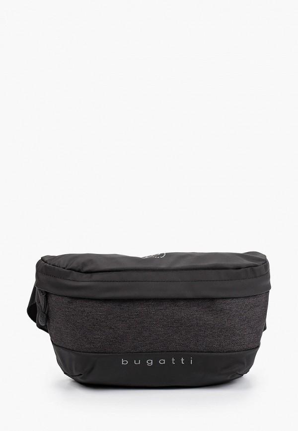 мужская поясные сумка bugatti, серая