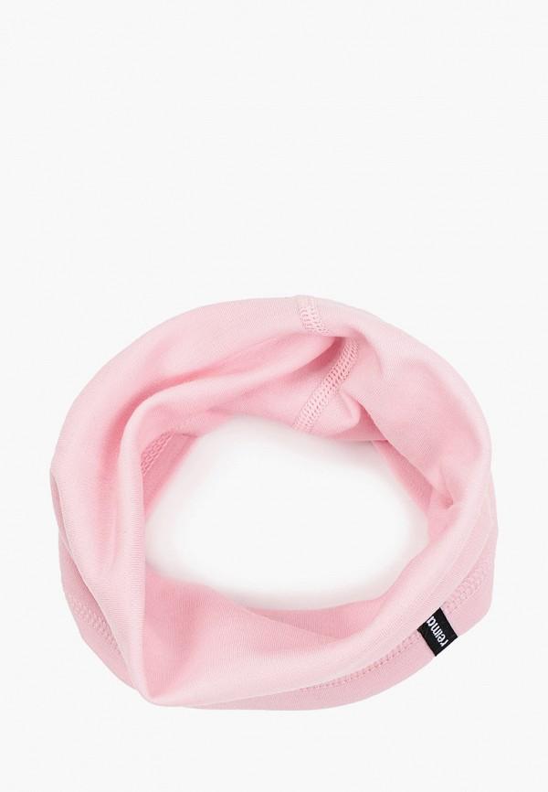 снуд reima для девочки, розовый