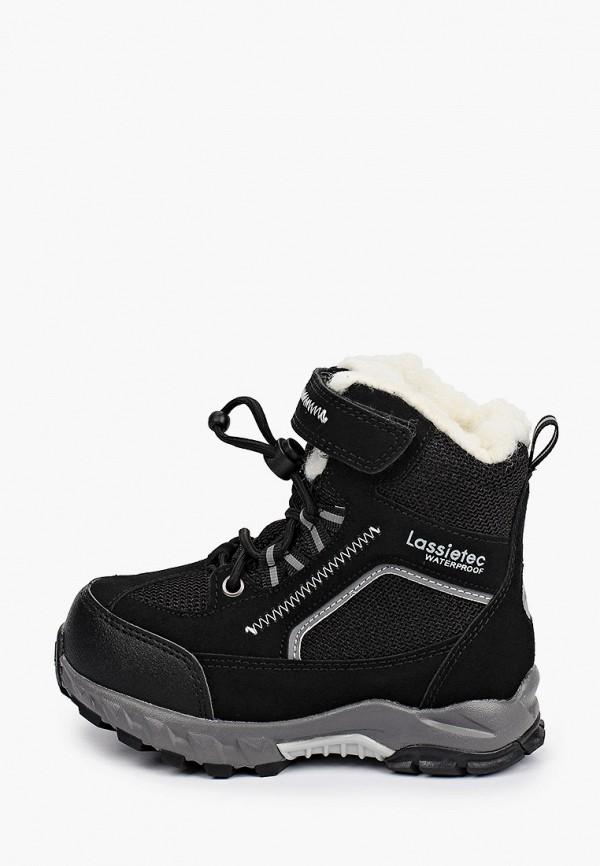 ботинки lassie by reima малыши, черные