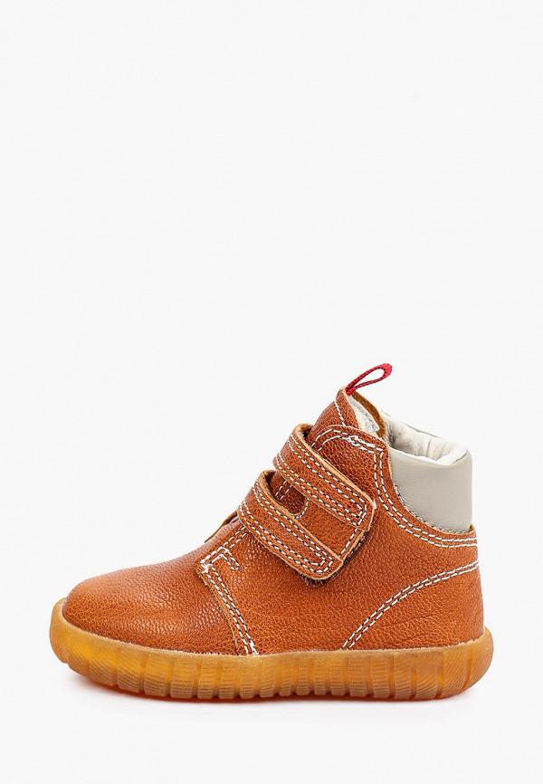 ботинки reima малыши, коричневые