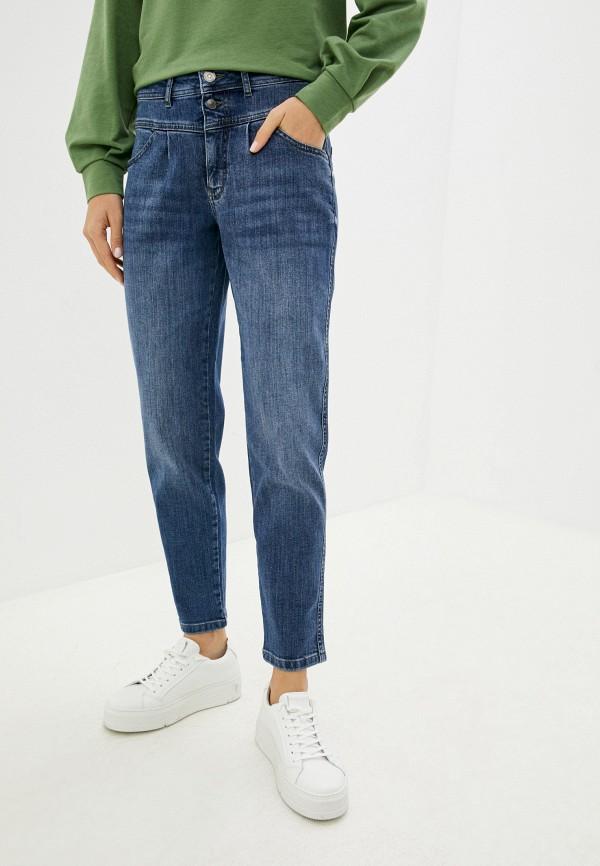 женские джинсы скинни betty & co, синие