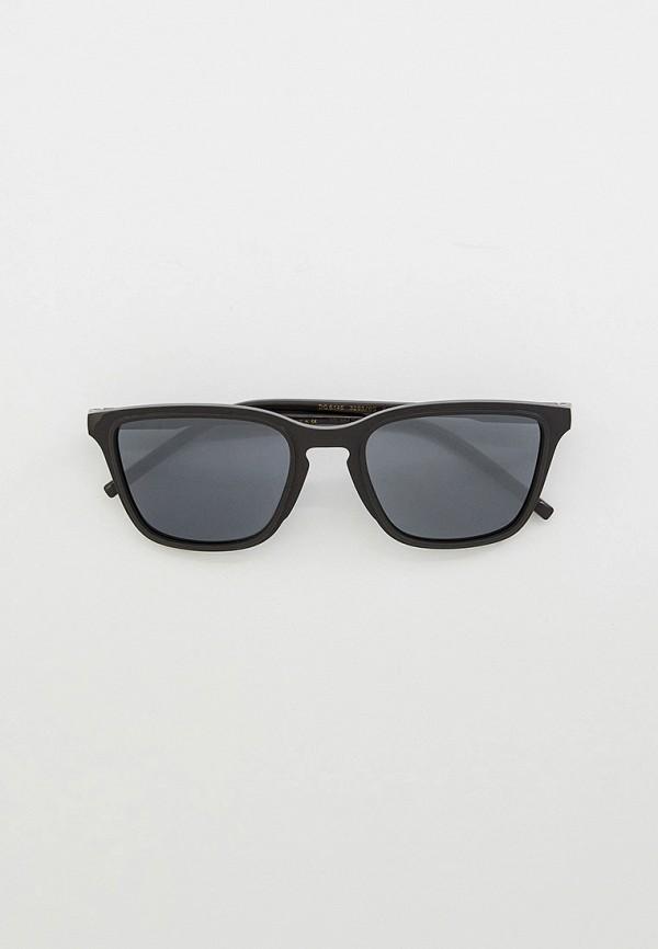 мужские квадратные солнцезащитные очки dolce & gabbana, черные
