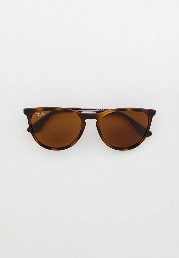 солнцезащитные очки ray ban малыши, коричневые