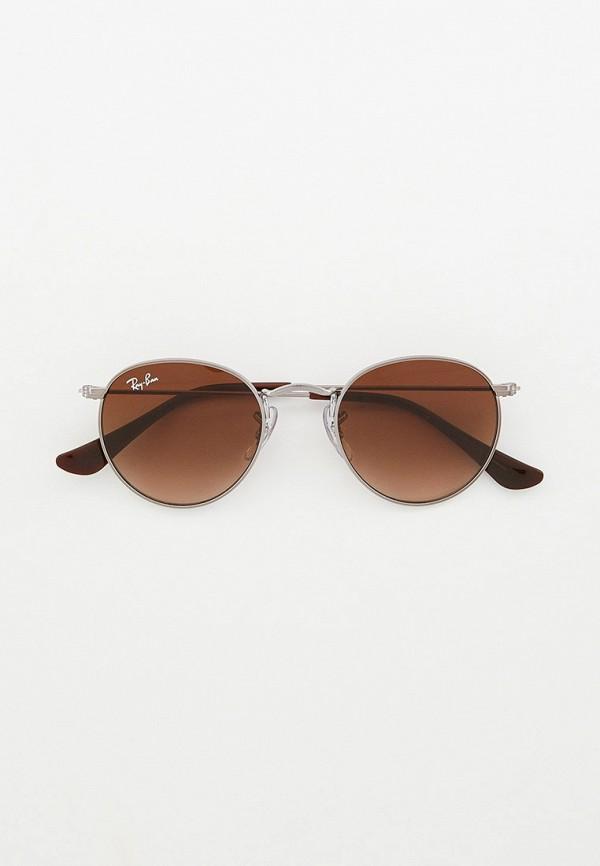 солнцезащитные очки ray ban малыши, серебряные