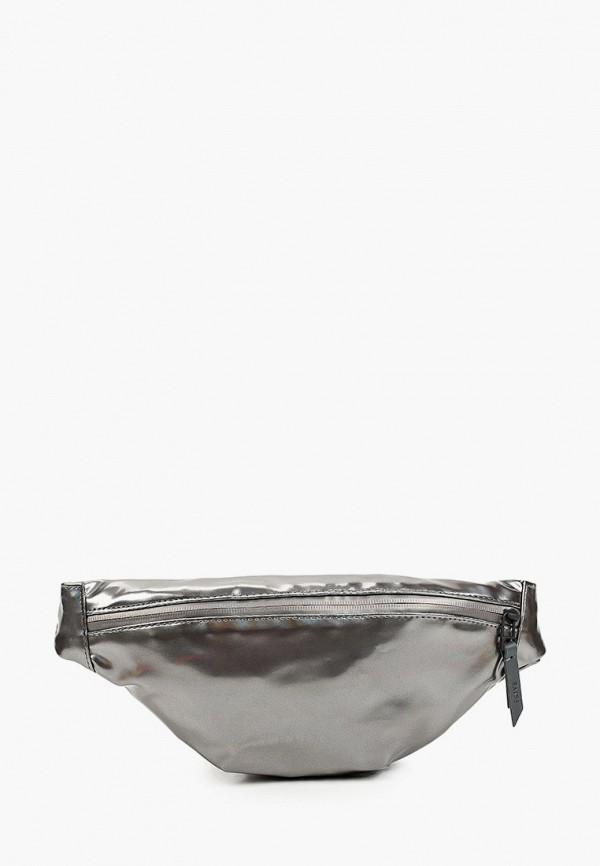 женская поясные сумка rains, серебряная
