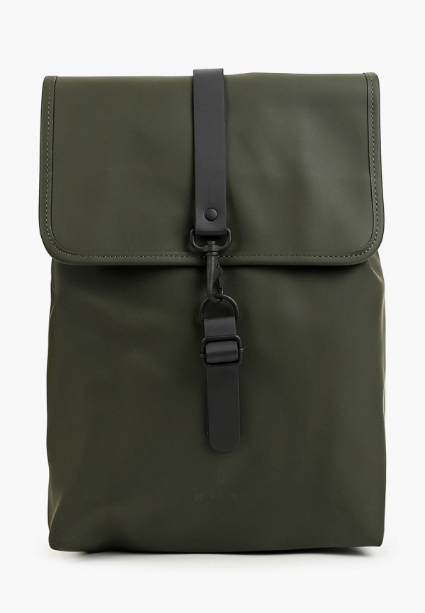 женский рюкзак rains, хаки