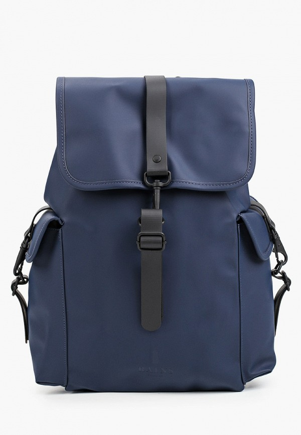 женский рюкзак rains, синий