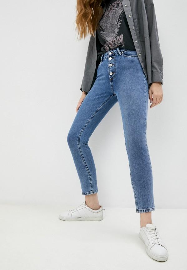 женские джинсы бойфренд iro, синие
