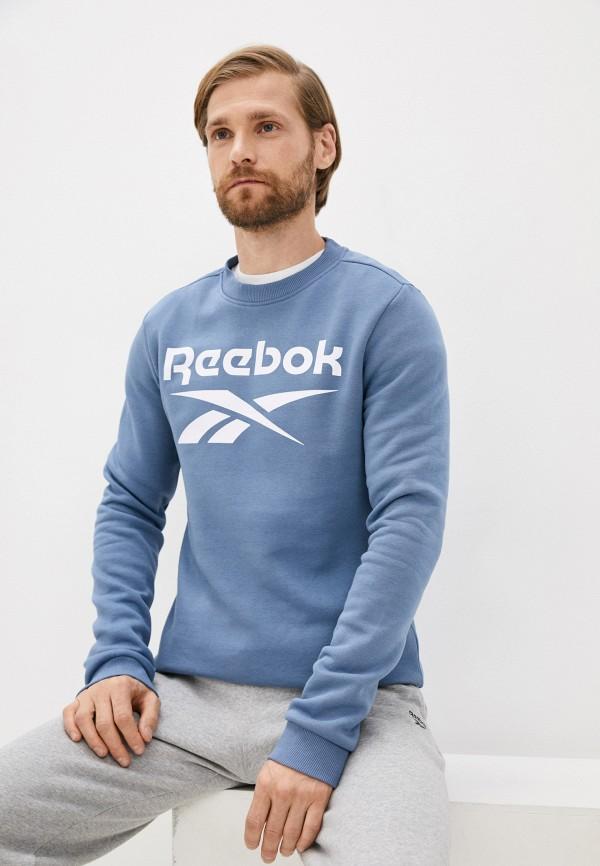 Свитшот Reebok голубого цвета