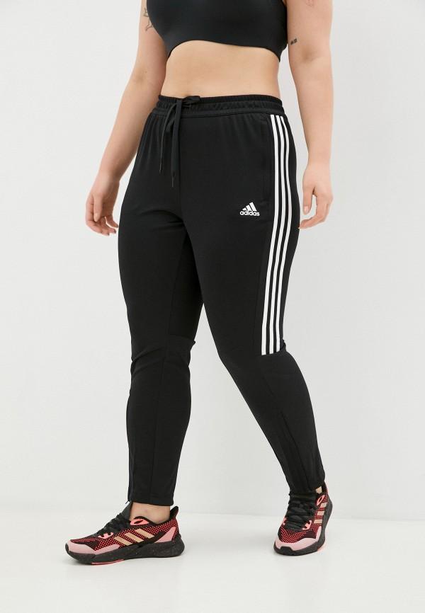 Брюки спортивные adidas черного цвета