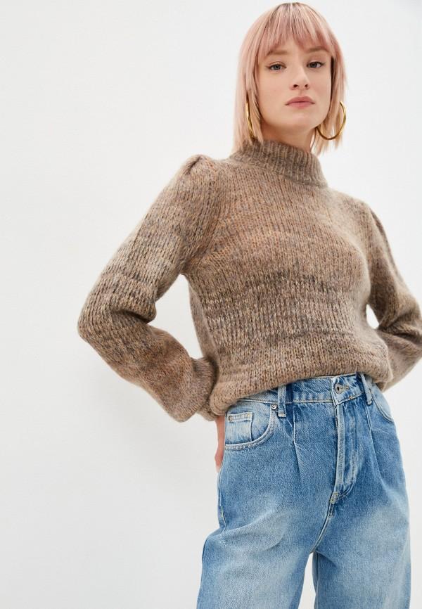 женский свитер liu jo, коричневый