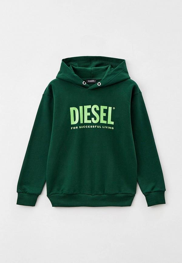 худи diesel малыши, зеленые