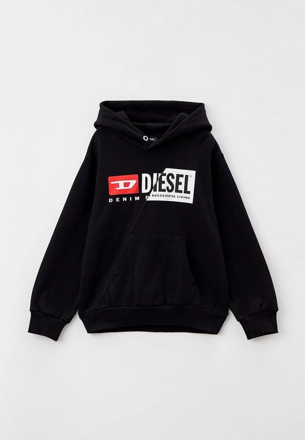 худи diesel малыши, черные