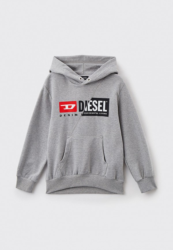 худи diesel малыши, серые