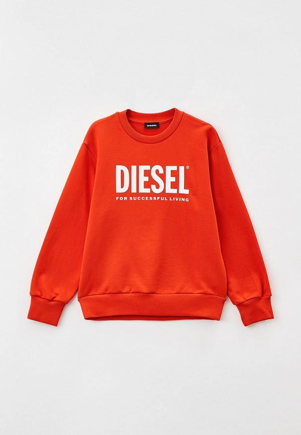 свитшот diesel малыши, оранжевый