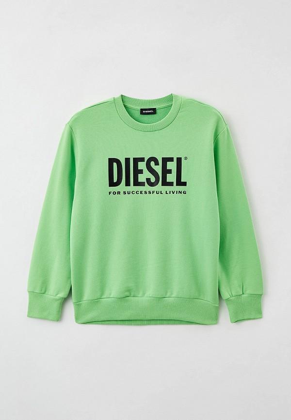 свитшот diesel малыши, зеленый