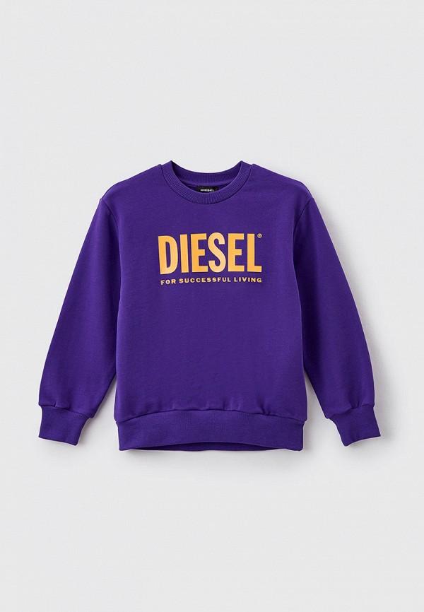 свитшот diesel малыши, фиолетовый