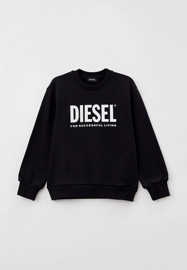 свитшот diesel малыши, черный
