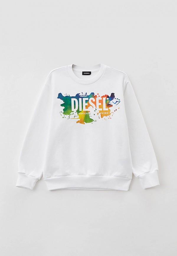 свитшот diesel малыши, белый