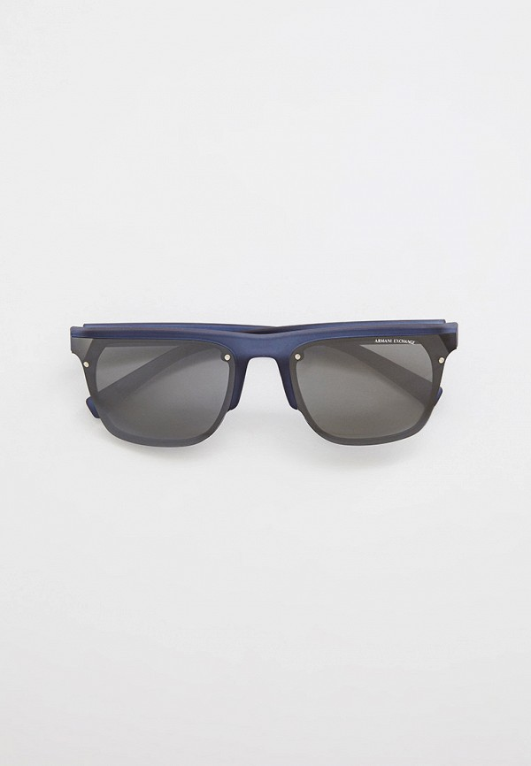 мужские квадратные солнцезащитные очки armani exchange, серые