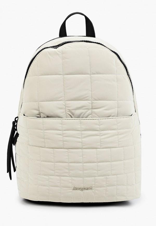 женский рюкзак desigual, белый