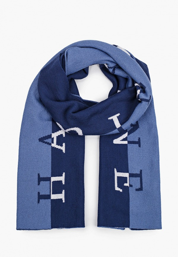 мужской шарф harmont & blaine, синий
