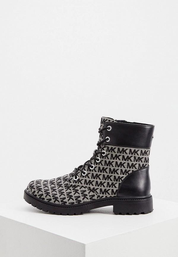женские высокие ботинки michael kors, бежевые