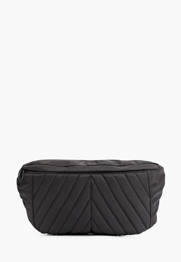 женская поясные сумка pieces, черная