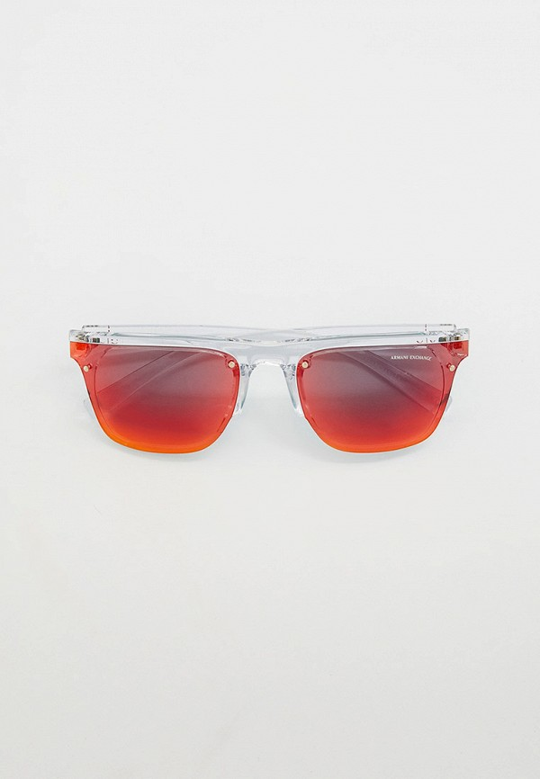 мужские квадратные солнцезащитные очки armani exchange