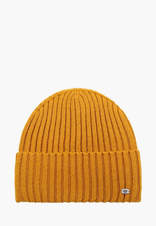 женская шапка ferz, коричневая