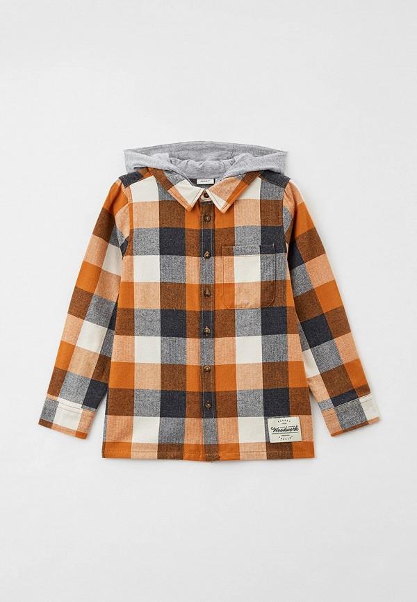 рубашка name it для мальчика, разноцветная