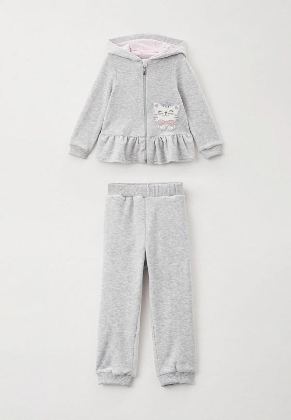 спортивный костюм choupette для девочки, серый