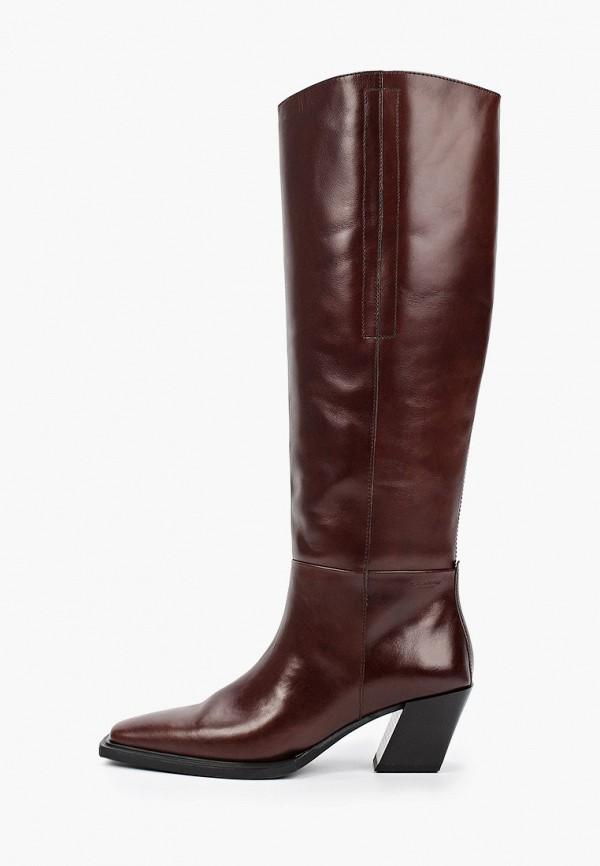 женские сапоги vagabond, коричневые
