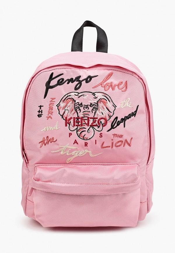 рюкзак kenzo для девочки, розовый