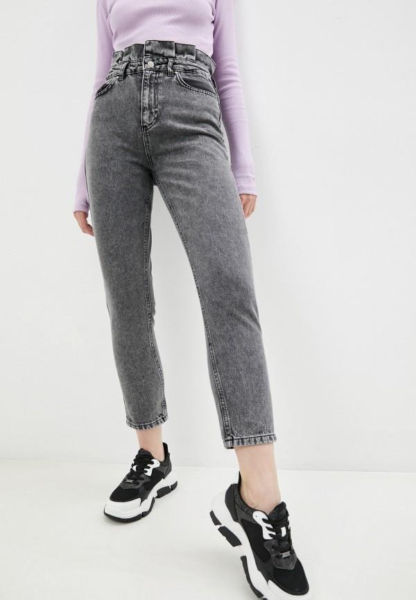 женские джинсы бойфренд trendyol, серые