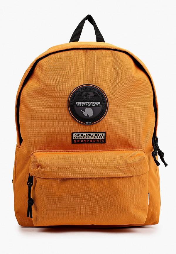 мужской рюкзак napapijri, оранжевый