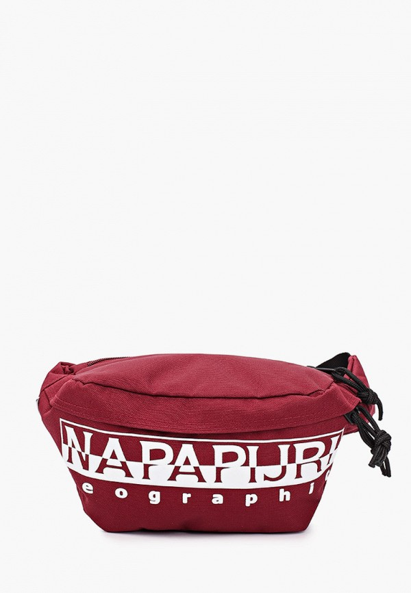 женская поясные сумка napapijri, бордовая